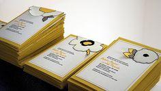 Sewn half flower + loose leaf fabric wedding invitations with fabric backs - Merriment Design