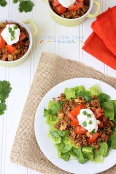 Taco and Rice Casserole #lowcarb