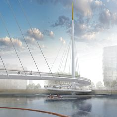 This week London and Copenhagen unveiled ambitious plans for pedestrian and cycle bridges
