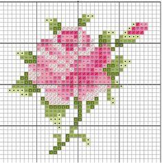 101 ÇEŞİT GÜL ŞABLONU (1) - GELİN İŞLERİ Cross Stitch Rose, Cross Stitch Flowers, Hand Art, Tapestry Crochet, Rose Bouquet, Hand Embroidery, Pattern, Workshop, Roses