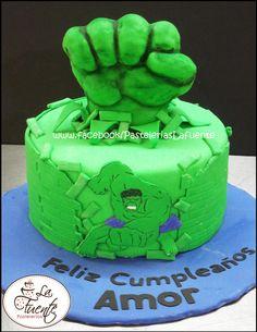 Pastel de Hulk