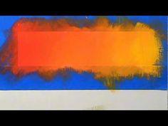 Blending acrylic paint (red through yellow) - YouTube; https://www.youtube.com/watch?v=M9hg7S97kXU