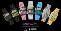 AppsUser: La app Geek Watch transforma tu Apple Watch en un reloj calculadora al estilo de los 80s