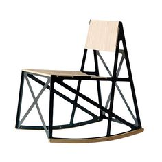 Brace rocking chair from New British Design