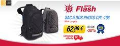 Vente flash Miss Numérique avec -30% sur le sac à dos photo Case Logic CPL-108
