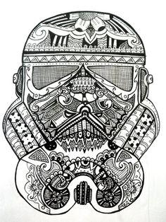 Sandtrooper Star Wars concept art by Joe Corroney, in Andrew ... | 314x236