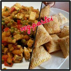 Vegetarische pasteitjes