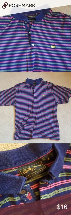 Masters Bobby Jones Polo Large Multi colored Masters Bobby Jones Polo Large Bobby Jones Shirts Polos