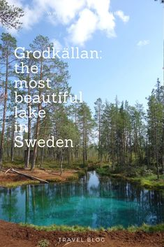 Grodkällan: the most beautiful lake in Sweden Tsuobbuojája the Sami call this place. It is better known as Grodkällan and it is whispered that this is perhaps the most beautiful lake in Sweden. Backpacking Europe, Europe Travel Guide, Travel Guides, Traveling Europe, Budget Travel, Europe Europe, Europe Budget, Travelling, Europe Packing