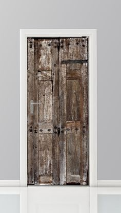 Deursticker - 16163999 Door Stickers, Loft Design, Wabi Sabi, Tall Cabinet Storage, New Homes, Windows, Sweet Home, Flooring, Wall Art