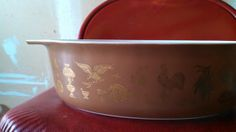 Beautiful Vintage Pyrex Americana Bowl by CollectorsAgency on Etsy, $10.95