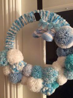 I tried this, non festive wreath.