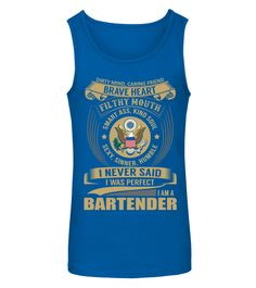 Bartender (Tanktop Unisex - Royal Blue) #shop #products #quotes bartender outfit, bartender recipes blue curacao, bartender recipes orange juice, back to school, aesthetic wallpaper, y2k fashion