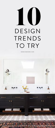 10 design trends you probably haven't tried yet