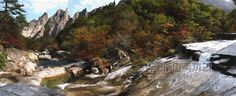 《우리 민족끼리》 - 금강산 선하계곡의 가을