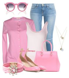 """It's Pink Day"" by lchar ❤ liked on Polyvore"