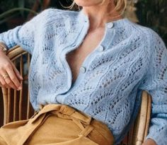 New-In Pieces From Sezane Rouje And Isabel Marant Who What ! neuheiten von sezane rouje und isabel marant who what ! des nouveautés de sezane rouje et isabel marant who what Cool Summer Outfits, Stylish Outfits, Wrap Dress Floral, Beautiful Blouses, Knit Fashion, Womens Fashion, Look Chic, Lace Knitting, Pulls