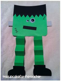 A Cupcake for the Teacher: My Frankenstein {a Craftivity}