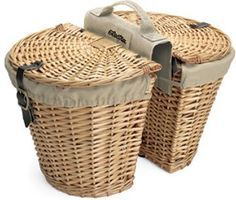 """these will be for my """"weekend bike"""" with the front basket with a wine bottle holder <3"""