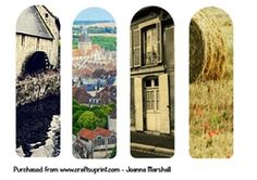 French Normandy Photography Bookmarks on Craftsuprint - View Now!