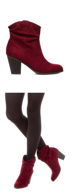 Oxblood Ankle Boots