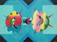 Battle of Flowers - Eileen Agar