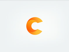 C letter icon No Grid designed by Aiste. Self Branding, Logo Branding, Branding Design, Logo Design, Graphic Design, Logos, Brand Identity, Typography Letters, Lettering