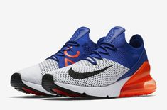 finest selection 97c11 048d8 Release Date Nike Air Max 270 Flyknit Racer Blue Total Crimson The Nike Air  Max