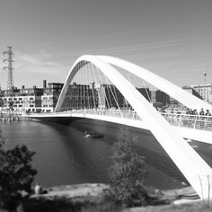 Nature just got closer in #helsinki w. new bridge to #blueberryland #mustikkamaa