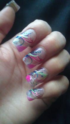 Nail art (March)