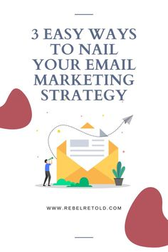 """Is your email list your friend or foe? """"You need a list,"""" they said. """"The money is in the list,"""" they said. """"You need an autoresponder,"""" they said. So you purchased an autoresponder; you added an opt-in box on your website; you have a couple of subscribers; now what? If you send out random emails every few months or every few years (yikes!) chances are you'll have several unsubscribes and maybe even a few spam reports. Here are 3 easy ways to nail your email marketing strategy. #emailmarketing"""