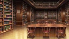 Library by Vui-Huynh on DeviantArt - Biblioteca - Scenery Background, Fantasy Background, Living Room Background, Cartoon Background, Animation Background, Episode Interactive Backgrounds, Episode Backgrounds, Anime Backgrounds Wallpapers, Anime Scenery Wallpaper
