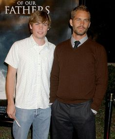 Paul Walker & brother