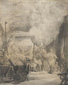 Death of the Virgin Rembrandt1639