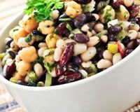 salade d'haricots