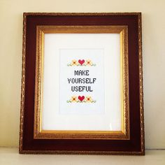 Funny counted cross stitch pattern make yourself by Vendor22, $5.00