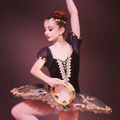 Maddie Gardella  looking stunning in this Esmeralda tutu created by Laura Berry of Classical Ballet Costumes & Tutu Designs.