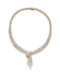 Diamond Necklace by Chaumet
