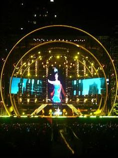 Concert Stage Design - Jolin World Tour Concert 2008 China Pic. 5