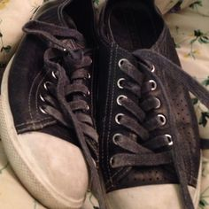 SALE ENDS 2-19Prada Leather Trainers Worn. And too small for me but very cute Prada Shoes Sneakers