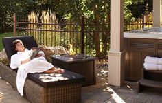 Refuges on pinterest garden office gazebo and chalets for Foyer exterieur au gaz