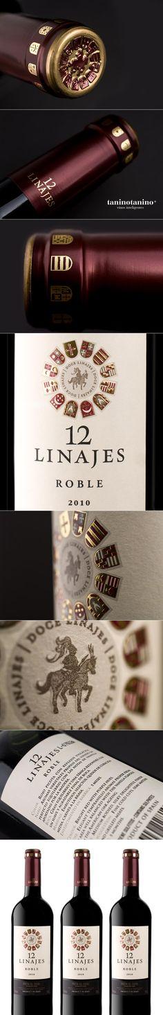 12 LINAJES ROBLE HISPANO BODEGA  - TANINOTANINO VINOS INTELIGENTES wine / vinho / vino mxm