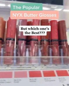 Nyx Lipstick, Glamorous Makeup, Dry Lips, Beauty Tutorials, Makeup Dupes, Nyx Cosmetics, Lip Gloss, Butter, Polish