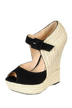 LILIANA Caroline Espadrille Wedge Sandal by We Love Wedges on @HauteLook