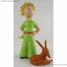Figurine Le Petit Prince et le Renard.
