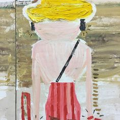 Rose Wylie, Estate, Figure Painting, Art Art, Mixed Media, Gardening, Studio, Pictures, Photos