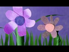 Brandon Ray - cut out animatins How to make paper stop motion plants grow [Tutorial]
