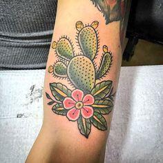 Cactus tattoo - Aaron Casas