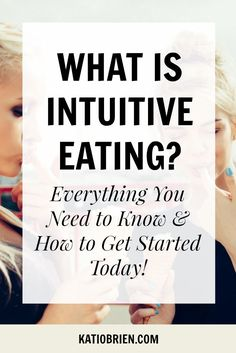 What is Intuitive Eating? Intuitive eating is an approach that teaches you how to listen to your own body when making decisions about food, as opposed to taking direction from external sources. It helps you create a healthy relationship between your food, mind and body. With intuitive eating, you l