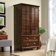 Found it at Wayfair - Crossreagh Armoire